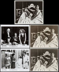 "The Rocky Horror Picture Show & Other Lot (20th Century Fox, 1975). Negatives (2) (4"" X 5""), Color Sli..."