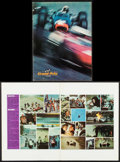 "Movie Posters:Sports, Grand Prix & Others Lot (MGM, 1967). Programs (2) (Identical) (32 Pages, 9"" X 12""), One Sheet (27"" X 41"") & Trimmed One Shee... (Total: 4 Items)"
