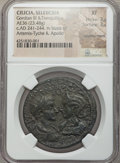 Ancients:Roman Provincial , Ancients: CILICIA. Seluceia. Gordian III (AD 238-244), withTranquillina. Æ 36mm (23.48 gm)....
