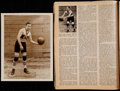 "Basketball Collectibles:Photos, 1920's John ""Pete"" Barry Original Photograph and ""SPORT"" Magazine -Original Celtics Great...."