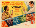 "Movie Posters:Drama, Riptide (MGM, 1934). Half Sheet (22"" X 28"") Style B. From thecollection of William E. Rea.. ..."
