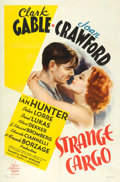 "Movie Posters:Drama, Strange Cargo (MGM, 1940). One Sheet (27"" X 41"") Style D. Fromthe collection of William E. Rea.. ..."