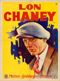 "Movie Posters:Horror, Lon Chaney (MGM, 1920s). Argentinean Personality Poster (21.5"" X29"").. ..."