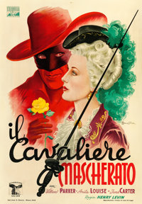 "The Fighting Guardsman (Columbia, 1946). Italian Foglio (27.5"" X 39"") Anselmo Ballester Artwork"