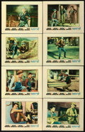 """Movie Posters:Western, Rio Bravo (Warner Brothers, 1959). Lobby Card Set of 8 (11"""" X14"""").. ... (Total: 8 Items)"""