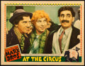 "Movie Posters:Comedy, At the Circus (MGM, 1939). Lobby Card (11"" X 14"").. ..."