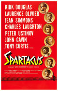 "Movie Posters:Action, Spartacus (Universal International, 1960). International RoadshowOne Sheet (27"" X 42""). Action.. ..."