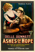 "Movie Posters:Western, Ashes of Hope (Triangle, 1917). One Sheet (27"" X 41"").. ..."