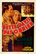 """Movie Posters:Crime, Hell's House (Astor, R-1937). One Sheet (27"""" X 41""""). Crime.. ..."""