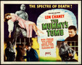 "Movie Posters:Horror, The Mummy's Tomb (Realart, R-1951). Title Lobby Card (11"" X 14"")....."