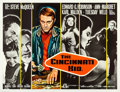 "Movie Posters:Drama, The Cincinnati Kid (MGM, 1965). British Quad (30"" X 40"").. ..."