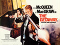 "Movie Posters:Action, The Getaway (Warner Brothers, R-1979). British Quad (30"" X 40"")....."