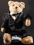Movie Posters:James Bond, James Bond: Cooperstown Teddy Bear (Cooperstown Bears, 1996).Limited Edition Numbered Collectible Teddy Bear in Original Pa...