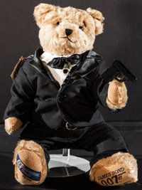 James Bond: Cooperstown Teddy Bear (Cooperstown Bears, 1996). Limited Edition Numbered Collectible Teddy Bear in Origina...