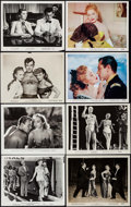 """Movie Posters:Comedy, We're Not Married & Others Lot (20th Century Fox, 1952). Photos (21), Color Photos (2), & Restrike Photos (4) (Approx. 8"""" X ... (Total: 27 Items)"""