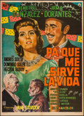 """Movie Posters:Foreign, Red Blossoms & Others Lot (Rosas Films, 1961). Mexican One Sheets (12) (approx. 27"""" X 37""""). Foreign.. ... (Total: 12 Items)"""