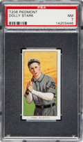 Baseball Cards:Singles (Pre-1930), 1909-11 T206 Piedmont Dolly Stark PSA NM 7 - Southern Leaguer -Just One Higher. ...