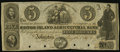 Obsoletes By State:Rhode Island, Johnston, RI- Rhode Island Agricultural Bank $5 May 12, 1834 Remainder. ...