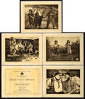 "Movie Posters:Comedy, Moonshine (Paramount, 1918). Title Lobby Card and Lobby Cards (4)(11"" X 14"").. ... (Total: 5 Items)"