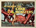 "Movie Posters:Science Fiction, Attack of the Crab Monsters (Allied Artists, 1957). Half Sheet (22""X 28"").. ..."