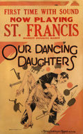 "Movie Posters:Drama, Our Dancing Daughters (MGM, 1928). Window Card (14"" X 22"").. ..."