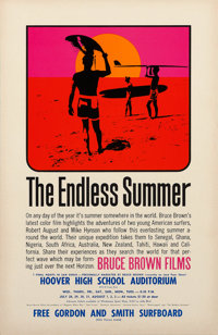 "The Endless Summer (Cinema 5, 1966). Special Screening Poster (11"" X 17"")"