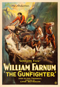 "Movie Posters:Western, The Gunfighter (Fox, 1923). One Sheet (28"" X 41"").. ..."
