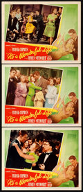 "Movie Posters:Fantasy, It's a Wonderful Life (RKO, 1946). Lobby Cards (3) (11"" X 14"")..... (Total: 3 Items)"