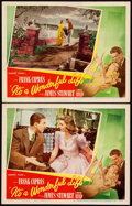 "Movie Posters:Fantasy, It's a Wonderful Life (RKO, 1946). Lobby Cards (2) (11"" X 14"")..... (Total: 2 Items)"