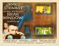 """Movie Posters:Hitchcock, Rear Window (Paramount, 1954). Half Sheet (22"""" X 28"""") Style A.. ..."""