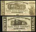 Obsoletes By State:Louisiana, New Orleans, LA- New Orleans, Jackson & Great Northern Rail Road Company $2; $3 Nov. 16, 1861... (Total: 2 notes)