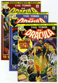 Bronze Age (1970-1979):Horror, Tomb of Dracula Group (Marvel, 1972-73). Includes #3 (VG/FN, introof Rachel Van Helsing and Inspector Chem), 4 (VF-), 6 (VF...(Total: 4 Comic Books)