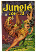 Golden Age (1938-1955):Adventure, Jungle Comics #137 (Fiction House, 1951) Condition: VF. Overstreet 2006 VF 8.0 value = $94. From the John McLaughlin Colle...
