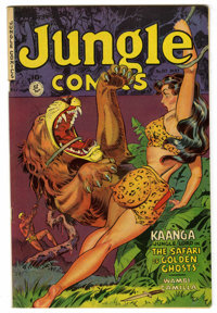 Jungle Comics #137 (Fiction House, 1951) Condition: VF. Overstreet 2006 VF 8.0 value = $94. From the John McLaughlin Col...