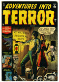 "Golden Age (1938-1955):Horror, Adventures Into Terror #11 Davis Crippen (""D"" Copy) pedigree(Atlas, 1952) Condition: FN. Russ Heath cover. Overstreet 2006 ..."