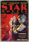 Pulps:Detective, Star Novels Group (Doubleday, Doran & Co., 1931-33) Condition: Average VG+. Includes the first issue from 1931 (back cover d... (Total: 4 Items)