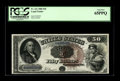 Large Size:Legal Tender Notes, Fr. 161 $50 1880 Legal Tender PCGS Gem New 65PPQ. This note wasfeatured in our last Signature Sale, though it did not come ...