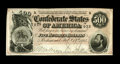 Confederate Notes:1864 Issues, T64 $500 1864. This $500 has a vertical and lateral center fold. Extremely Fine....