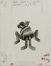 Arnoldo Franchioni - Mad Illustration Original Art, Group of 18 (EC, 1977-84). This group lot features 18 mixed-media il...