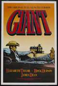 "Movie Posters:Drama, Giant (Warner Brothers, R-1982). One Sheet (27"" X 41""). Drama. Starring Elizabeth Taylor, Rock Hudson, James Dean, Carroll B... (Total: 2 Items)"
