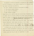 """Basketball Collectibles:Others, 1930's James Naismith Typed Manuscript with Handwritten Notes re:""""The Origin of Games."""" Seven typed pages with numerous ha..."""