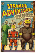 "Golden Age (1938-1955):Science Fiction, Strange Adventures #32 Davis Crippen (""D"" Copy) pedigree (DC, 1953)Condition: FN/VF. Murphy Anderson gorilla cover. Art by ..."