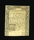 Colonial Notes:Connecticut, Connecticut June 1, 1780 1s/3d About New. An uncancelled example ofthis common Connecticut issue that has superb eye appeal...