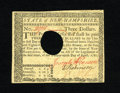Colonial Notes:New Hampshire, New Hampshire April 29, 1780 $3 About New. A very pleasing note forthe grade that has good margins, bright pen signatures a...