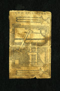 Colonial Notes:New York, New York Water Works Reverse Only This is a very interesting noteto own as it is only the back of a Water Works note. Thes...