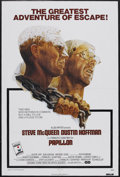 "Movie Posters:Drama, Papillon (Allied Artists, 1973). One Sheet (27"" X 41""). Drama. Starring Steve McQueen, Dustin Hoffman, Victor Jory and Don G..."