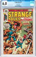 Bronze Age (1970-1979):Superhero, Strange Tales #185 30¢ Price Variant (Marvel, 1976) CGC FN 6.0 White pages....
