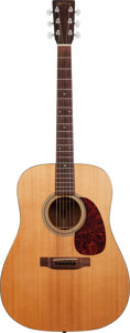 Musical Instruments:Acoustic Guitars, 1991 Martin D-16H Natural Acoustic Guitar, Serial # 507175....