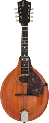 1917 Gibson A-1 Natural Mandolin, Serial # 35410