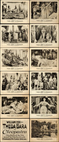 "Movie Posters:Drama, Cleopatra (Fox, 1917). Lobby Card Set of 12 (8"" X 10"").. ... (Total: 12 Items)"